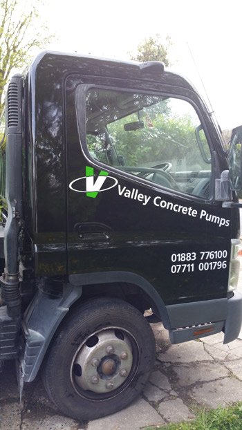 Professional concrete pumping in Surrey